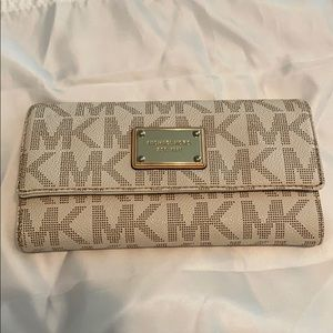 Michael Kors Wallet with checkbook holder